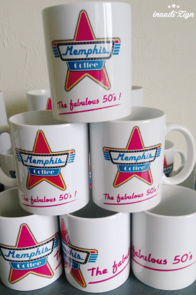 mugs impression sublimation